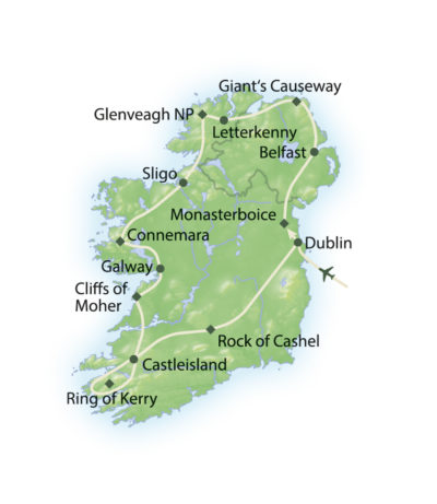 Route Irland - Natur & Kultur