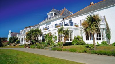 The White House Hotel, Harbour, Herm