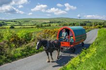 Zigeunerwagen, Irland