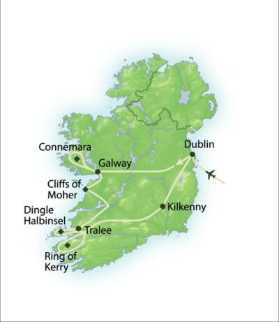 Route Irland erleben