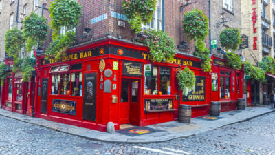 The Temple Bar, Dublin, Irland