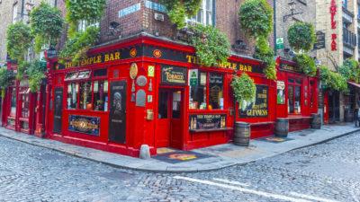 The Temple Bar, Dublin, Irland