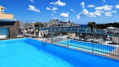 Rooftop Pool, ST Bayview Hotel, Sliema, Malta