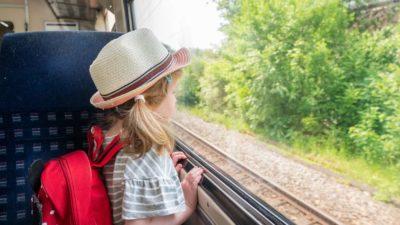 Zugreisen, England