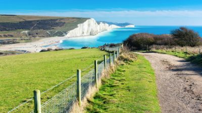 Kreidefelsen von Dover, England