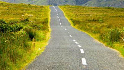 Mietwagen - Unterwegs in Irland