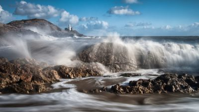 Mumbles Lighthouse, Wales