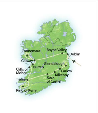 Route Begegnungen mit Irland