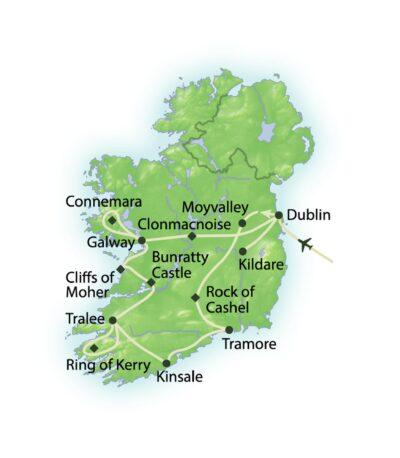 Route Keltische Schätze